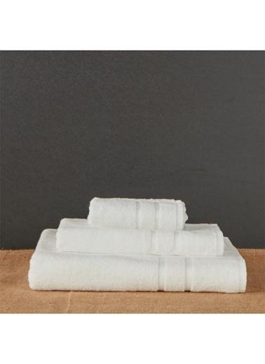 Hibboux 50x90 Vogue Yüz Havlusu White Alyssum Beyaz